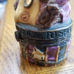 Boyds Bears Other - Born to shop Boyd's bear trinket box